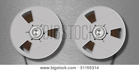 Metallic Tape Recorder