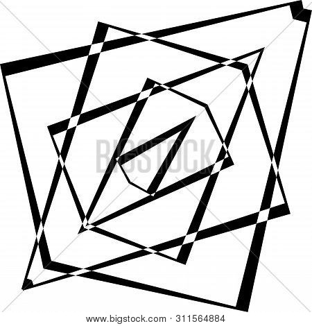 Deta Wing Two Impression Inspired Strukture Abstract Cut Art Deco Illustration On Transparent Backgr