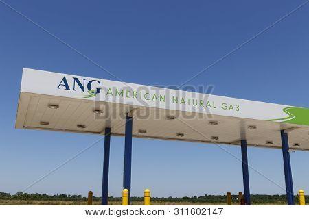 Dayton - Circa July 2019: American Natural Gas Filling Station. American Natural Gas Designs, Builds
