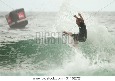 Coolangatta, Australia - Mar 03 : Quicksilver  Pro Asp World Tour, Raoni Monteiro During Expression