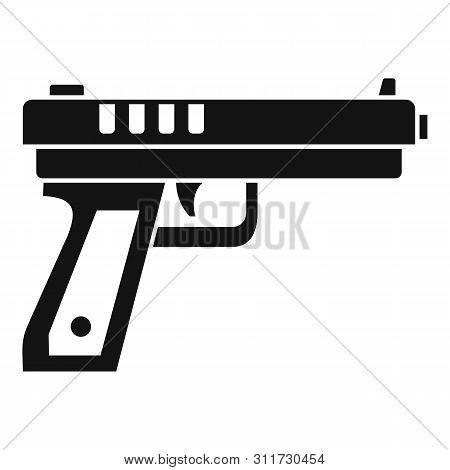 gun pistol icon vector photo free trial bigstock gun pistol icon vector photo free