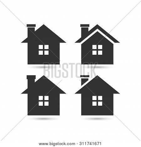 Vector Home Icon, House Icon, House Logo Vector. House Icon Simple. House Icon App. House Icon Web,