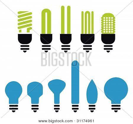 Bulbs Silhouette