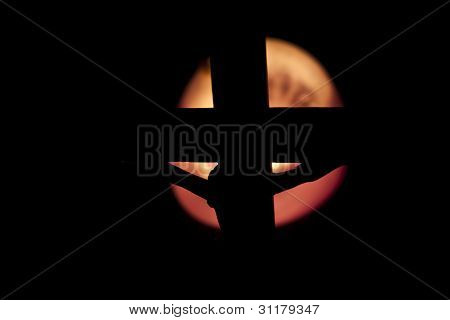 Crucifixion Silhouette
