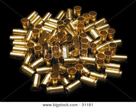 Empty 45ACP Brass 01