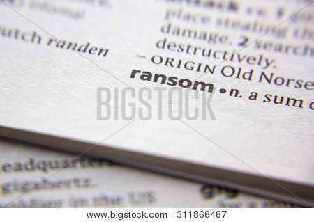 Word Or Phrase Ransom In A Dictionary
