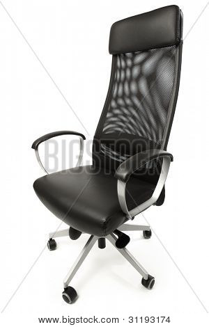 office armchair isolated on white