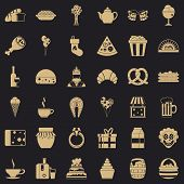 Bounty icons set. Simple style of 36 bounty icons for web for any design poster