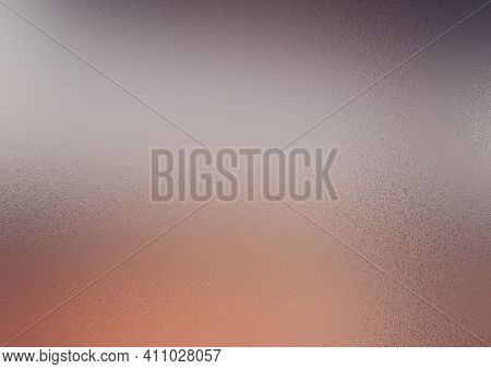 Frosty Background. Frosted Colored Glass. Glass Corrugated Texture. Frosty Background In The Color O
