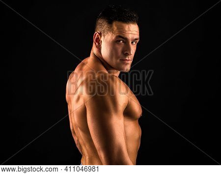Naked Man Bare Torso. Nude Male Abs. Sexy Muscular Guy. Topless Muscular Fitnes Model. Sexy Naked Bo