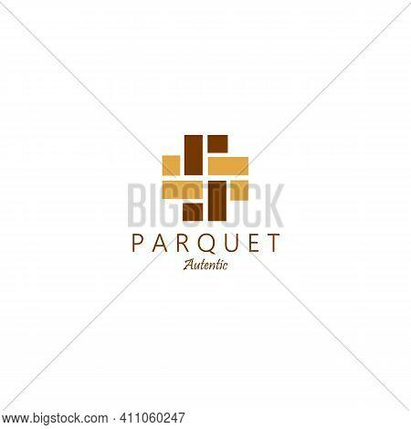 Minimalist Parquet Floor Hardwood Logo Vector Illustration Design Line