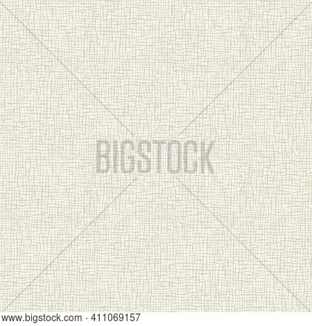 Seamless Checkered Pattern. Texture With The Effect Of A Rough Weave Of Thread, Burlap, Linen, Canva