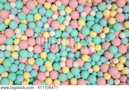Fruit Candies. Colorful Bright Chewy Candies Covered With Sugar. Colorful Jelly Candies. Candy Backg