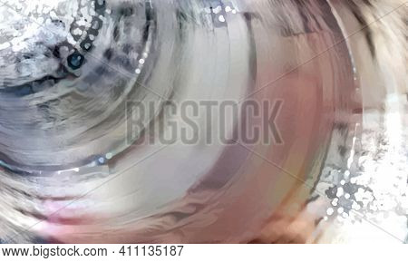 Abstract Background With The Image Of Mother Of Pearl. The Texture Of The Watercolour. Mother-of-pea