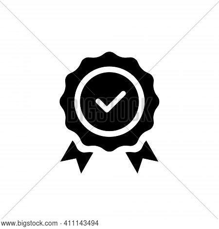 Warranty Icon Vector. Guarantee Symbol Image - Icon