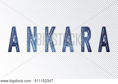 Ankara Lettering, Ankara Milky Way Letters, Transparent Background, Clipping Path
