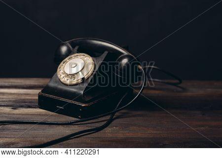 Retro Telephone Old Technology Communication Vintage Nostalgia