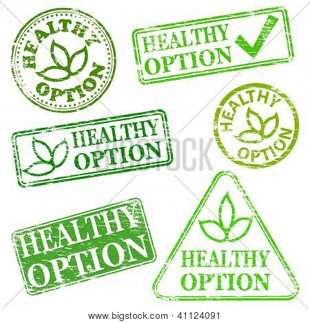 Healthy Option Stamps