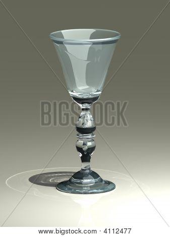 Glass On White