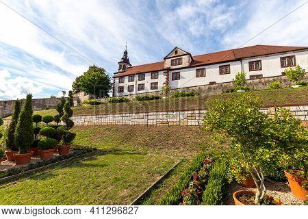 View Of Wilhelmsburg Castle In Schmalkalden, Thuringia