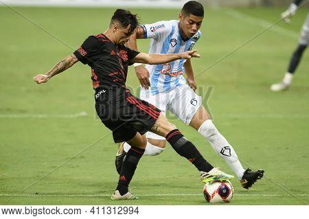 Rio, Brazil - March 06, 2021: Michael Player In Match Between Macae V Flamengo By Carioca Championsh