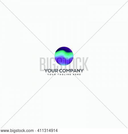 Aurora Logo Designs Full Color Logo, Light Aurora Logo