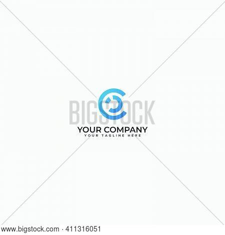 Cci Logo, Letter Ci Logo, Letter Cc Logo, Abstract C Logo