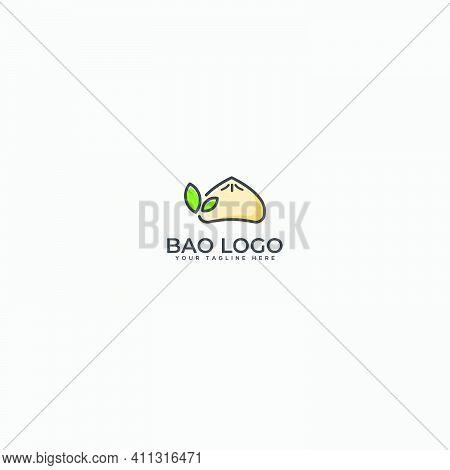 Natural Bao Logo, Chinese Food, Bao, Chinese Restaurant