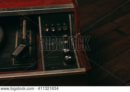 Retro Turntable Gramophone Nostalgia Entertainment Old Technology