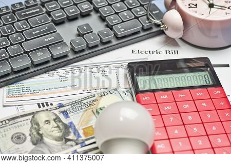 Monthly Utility Bills. Cost Of Utilities. Planning For Utility Costs In The Monthly Budget. Electric