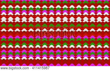 Groovy Psychedelic Background. Vector Illustration.
