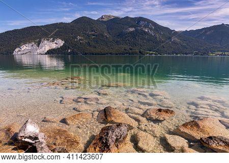 Wolfgangsee - Glacial Lake In Upper Austria