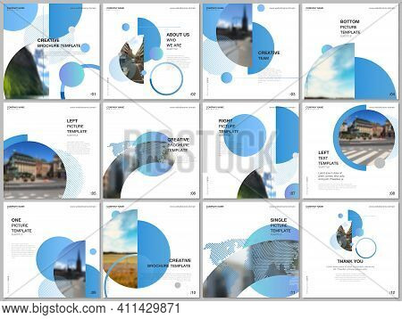Brochure Layout Of Square Format Covers Design Templates For Square Flyer Leaflet, Brochure Design,