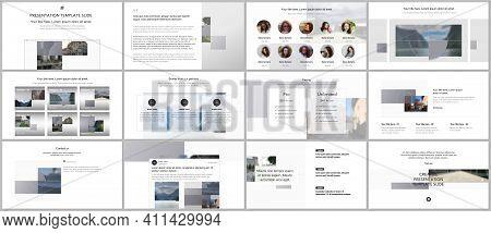Bundle Of Editable Business Templates For Digital App, Web Products. Vector Templates For Website De