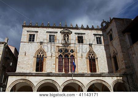 Sponza Palace. Dubrovnik, Croatia