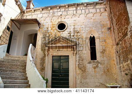 Quiet Backyard In Dubrovnik
