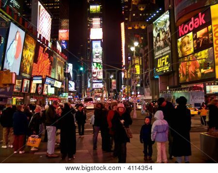 Times Square Dec 08