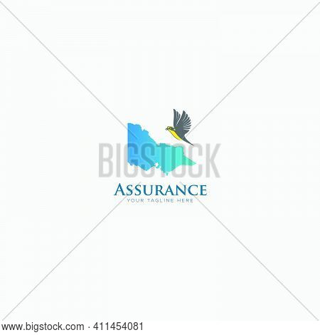 Australia Assurance Logo Design Modern And Honey Eater Bird