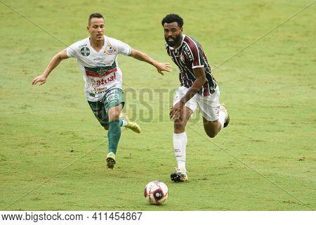 Rio, Brazil - March 07, 2021: Caio Vinicius Player In Match Between Fluminense V Portuguesa By Cario