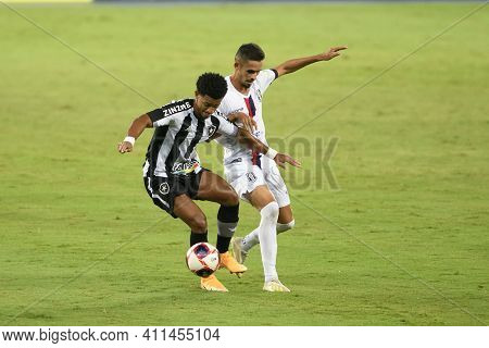 Rio, Brazil - March 07, 2021:  Warley Player In Match Between Botafogo V Resende By Carioca Champion
