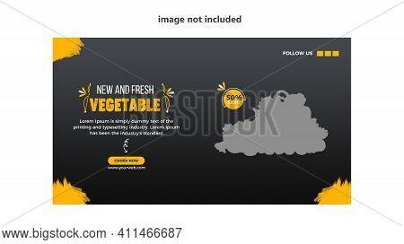 Social Media Post for Food Promotion offer poster , Healthy Food Social Media Post . Food social media web banner design template, Food Social media and web square banner design template .