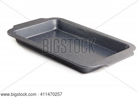 Cheap Thin Oven-tray Isolated On White Background, New