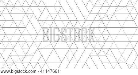 Technology White Background .geometric Rhombuses.abstract Tech.technical Drawing.vector Illustration