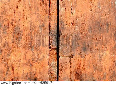 Dirty Rusty Metal Texture, Rusty Iron Background, Steel Material, Corrosion Effect, Seamless Texture