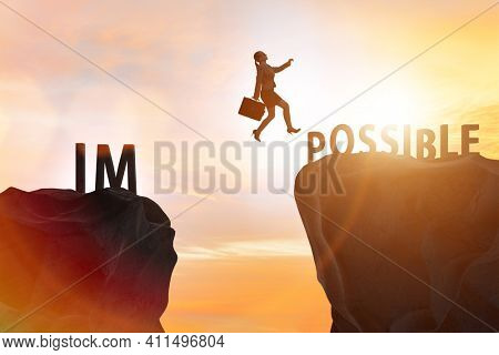 The concept of impossible becoming possible