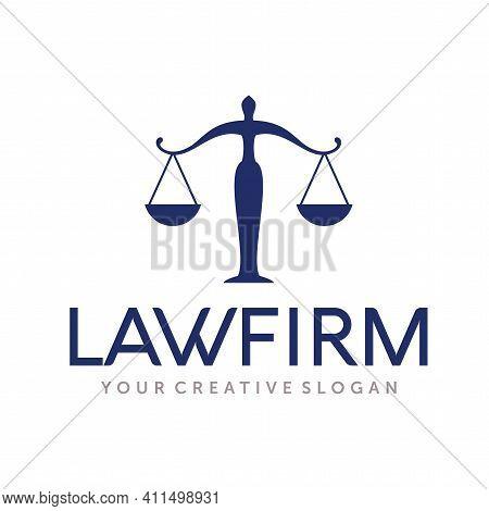 Law Firm Logo Design. Attorney Logo Design Vector