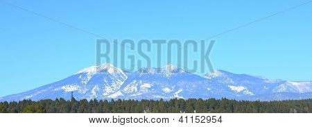 San Francisco Peaks in Flagstaff, Arizona