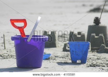 Toys In The Sand