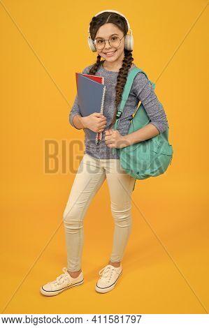 Educational Reform. Goal Of Changing Public Education. Regular School Day. Stylish Schoolgirl. Girl