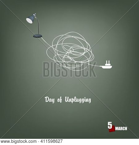 The Calendar Event Is Celebrated In March - Holiday Day Of Unplugging